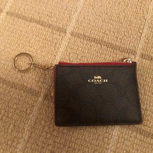 Coach keychain/cardholder